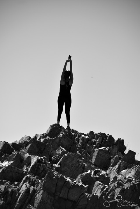 Hiker Stretch BW
