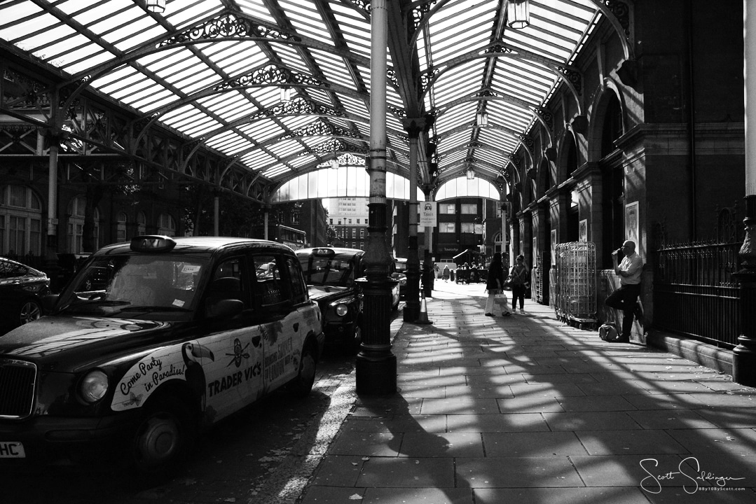 London_Cab_Shadows_2_BW