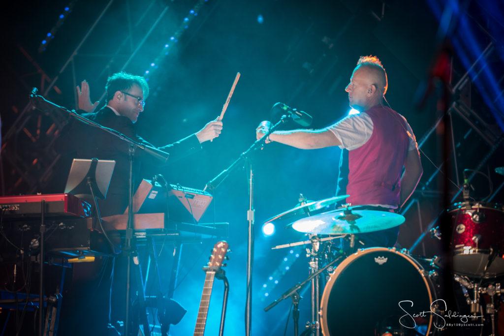 Stephen Large and Simon Hanson