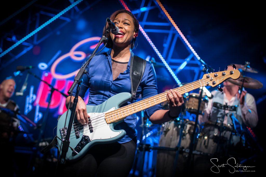 Yolanda Charles on Bass