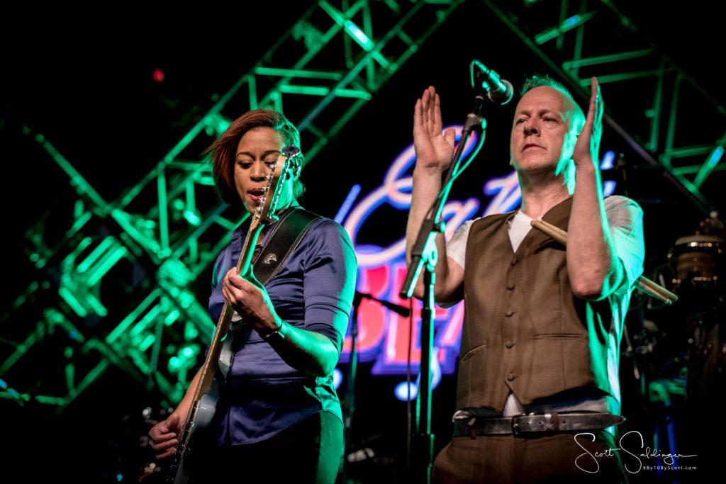 Yolanda Charles and Simon Hanson